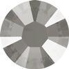 Swarovski 2038 XILION Rose Hotfix Crystal Dark Grey (Hotfix Transparent) SS10