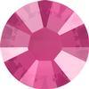 Swarovski 2038 XILION Rose Hotfix Crystal Peony Pink (Hotfix Transparent) SS10
