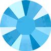Swarovski 2038 XILION Rose Hotfix Crystal Summer Blue  (Hotfix Transparent) SS10