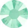 Swarovski 2038 XILION Rose Hotfix Crystal Mint Green (Hotfix Transparent) SS10
