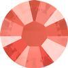 Swarovski 2038 XILION Rose Hotfix Crystal Light Coral (Hotfix Transparent) SS10