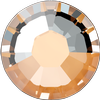 Swarovski 2038 XILION Rose Hotfix Crystal Peach DeLite SS10