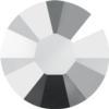 Swarovski 2038 XILION Rose Hotfix Crystal Light Chrome SS6