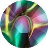 Swarovski 2038 XILION Rose Hotfix Crystal Rainbow Dark SS8