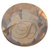 Swarovski 2038 XILION Rose Hotfix Crystal Golden Shadow SS6