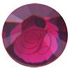 Swarovski 2038 XILION Rose Hotfix Ruby SS12