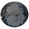 Swarovski 2038 XILION Rose Hotfix Crystal Silver Night SS6