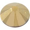 Swarovski 2000 Rose Flat Back Crystal Aurum SS3