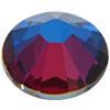Swarovski 2058 XILION Rose Flat Back Crystal Meridian Blue SS5