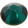 Swarovski 2058 XILION Rose Flat Back Emerald SS10