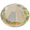 Swarovski 2058 XILION Rose Flat Back Crystal Lemon SS16