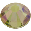 Swarovski 2058 XILION Rose Flat Back Crystal Luminous Green SS16
