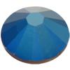 Swarovski 2058 XILION Rose Flat Back Crystal Metallic Blue SS20