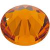 Swarovski 2058 XILION Rose Flat Back Tangerine SS9