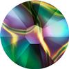 Swarovski 2058 XILION Rose Flat Back Crystal Rainbow Dark SS5