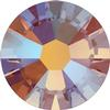 Swarovski 2058 XILION Rose Flat Back Topaz Shimmer SS5