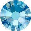 Swarovski 2058 XILION Rose Flat Back Light Sapphire Shimmer SS5