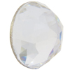Swarovski 2072 Rose Cut Flat Back Crystal 8mm