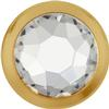 Swarovski 2078/H Framed Hotfix Crystal / Gold SS