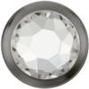 Swarovski 2078/H Framed Hotfix Crystal / Gunmetal SS