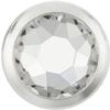 Swarovski 2078/H Framed Hotfix Crystal / Silver SS16