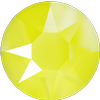 Swarovski 2078 XIRIUS Rose Hotfix Crystal Electric Yellow (Hotfix Transparent) SS16