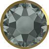 Swarovski 2078/I Rimmed Hotfix Black Diamond / Dorado SS16