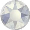 Swarovski 2078/I Rimmed Hotfix White Opal / Light Chrome SS16
