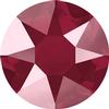 Swarovski 2078 XIRIUS Rose Hotfix Crystal Dark Red (Hotfix Transparent) SS16
