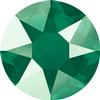 Swarovski 2078 XIRIUS Rose Hotfix Crystal Royal Green (Hotfix Transparent) SS16