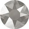 Swarovski 2078 XIRIUS Rose Hotfix Crystal Dark Grey (Hotfix Transparent) SS16