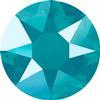 Swarovski 2078 XIRIUS Rose Hotfix Crystal Azure Blue (Hotfix Transparent) SS16