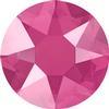 Swarovski 2078 XIRIUS Rose Hotfix Crystal Peony Pink (Hotfix Transparent) SS16