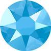 Swarovski 2078 XIRIUS Rose Hotfix Crystal Summer Blue  (Hotfix Transparent) SS16