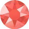 Swarovski 2078 XIRIUS Rose Hotfix Crystal Light Coral (Hotfix Transparent) SS16