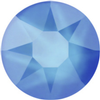 Swarovski 2078 XIRIUS Rose Hotfix Crystal Electric Blue (Hotfix Transparent) SS34