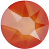Swarovski 2078 XIRIUS Rose Hotfix Crystal Electric Orange (Hotfix Transparent) SS20