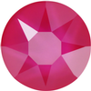 Swarovski 2078 XIRIUS Rose Hotfix Crystal Electric Pink (Hotfix Transparent) SS34