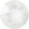 Swarovski 2078 XIRIUS Rose Hotfix Crystal Electric White (Hotfix Transparent) SS34
