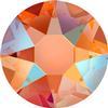 Swarovski 2078 XIRIUS Rose Hotfix Tangerine Shimmer SS20