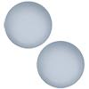 Swarovski 2080/4 Hotfix Pearl Cabochon Crystal Powder Blue SS10