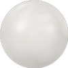 Dreamtime Crystal DC 2080 Hotfix Pearl Cabochon White SS10