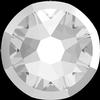 Swarovski 2088/I Rimmed XIRIUS Rose Flat Back Crystal with Light Chrome Rim SS34