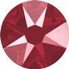 Swarovski 2088 XIRIUS Rose Flat Back Crystal Dark Red SS16