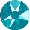 Swarovski 2088 XIRIUS Rose Flat Back Crystal Azure Blue SS12