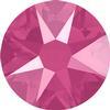 Swarovski 2088 XIRIUS Rose Flat Back Crystal Peony Pink SS12