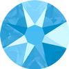 Swarovski 2088 XIRIUS Rose Flat Back Crystal Summer Blue SS12