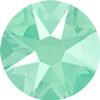 Swarovski 2088 XIRIUS Rose Flat Back Crystal Mint Green SS12