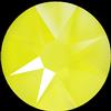 Swarovski 2088 XIRIUS Rose Flat Back Crystal Electric Yellow SS16