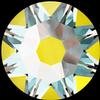 Swarovski 2088 XIRIUS Rose Flat Back Crystal Sunshine DeLite SS16